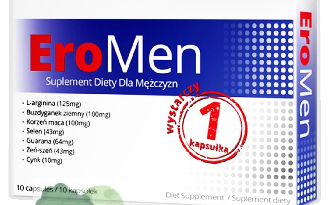 EroMen – tabletki na erekcję