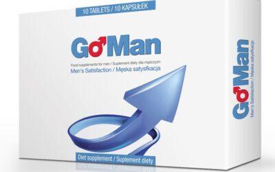 GoMan – tabletki na erekcję