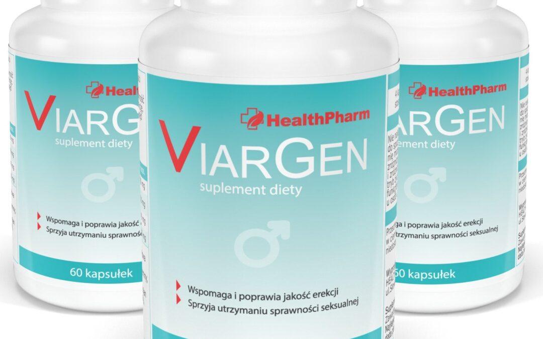 Viargen – tabletki na erekcję